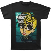 Lady Gaga Men's Marry The Night 2013 Tour Slim Fit T-shirt Large Black