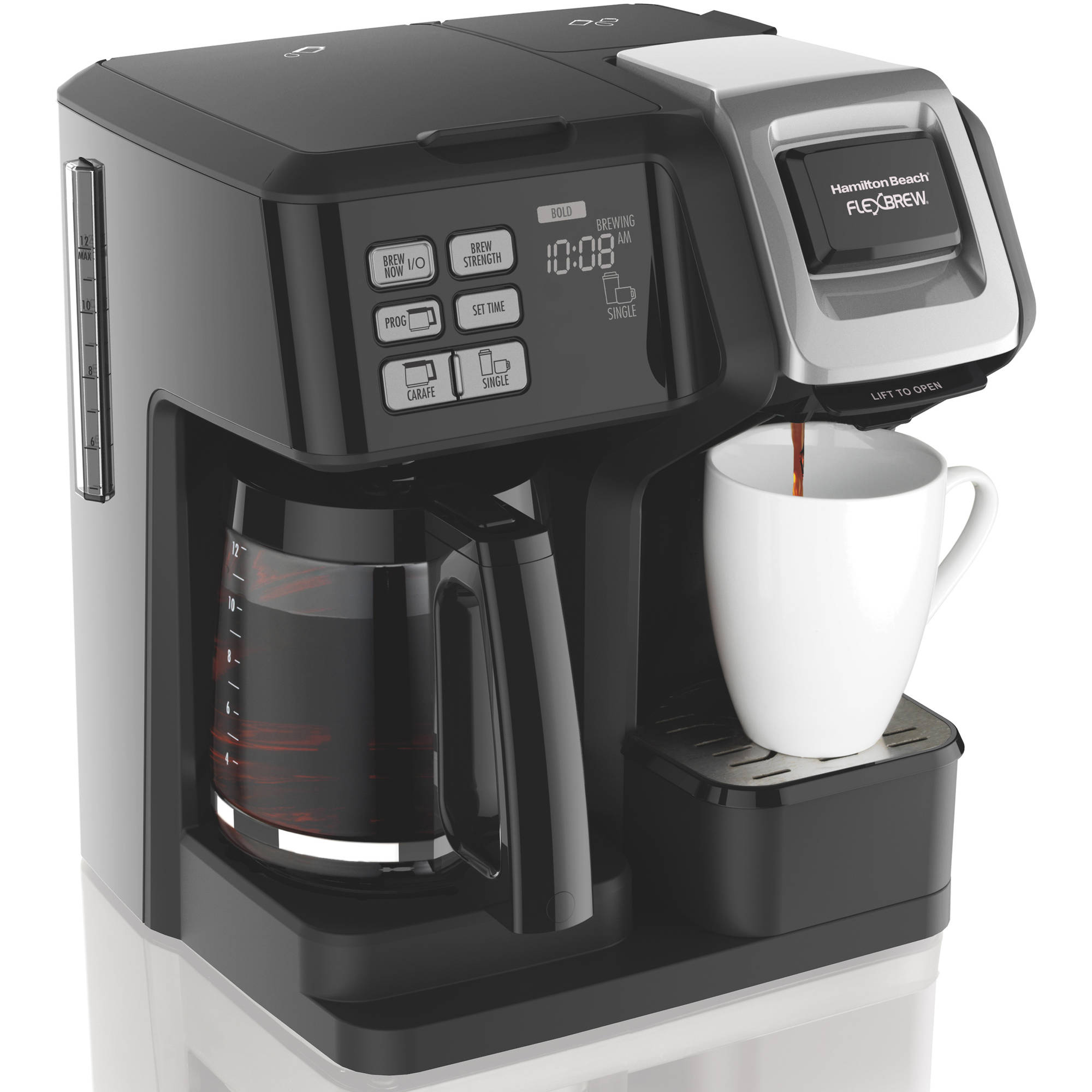 Hamilton Beach FlexBrew 2 Way Coffee Maker | Model# 49976