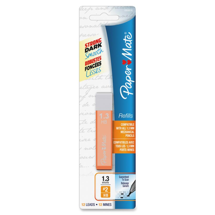 Paper Mate, PAP1868816, Mates Pencil Lead Refill Pack, 12 / Pack