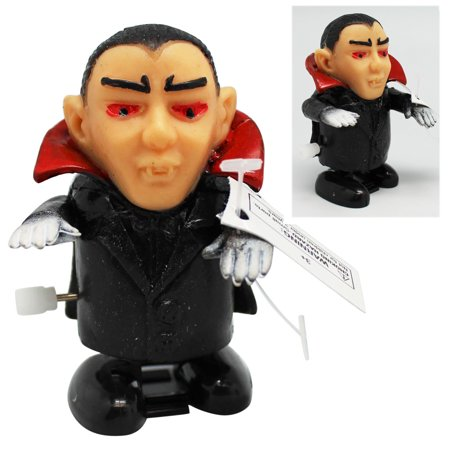 Dracula Toy (Mini Dracula Bendable Arms Windup Walking Toy - By Ganz )
