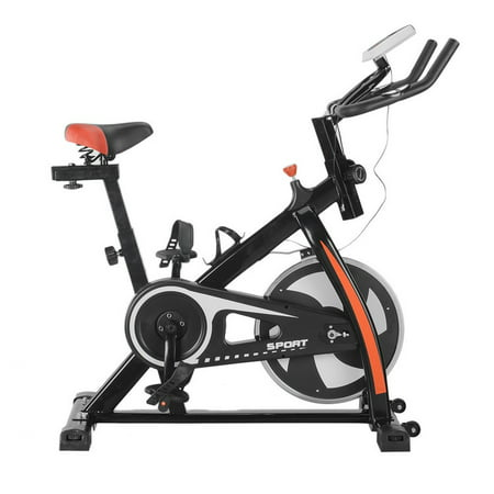 Indoor Cycling Trainer Exercise Bike Cycling Twisting Exercise Bike Equipment (Black)