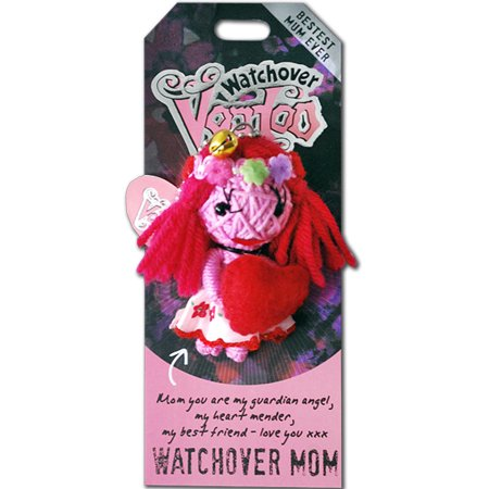 Watchover Voodoo Doll - Watchover Mom /Pink (Crow Mother Kachina Doll)