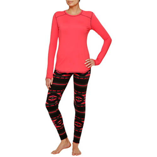 by cuddl duds brushed jersey top and legging