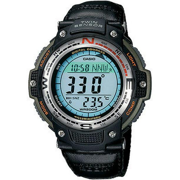 Men's SGW100B-3V Digital Compass Twin-Sensor Sport Watch