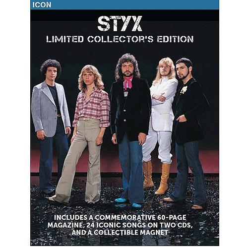 Icon Series: Styx 'ZinePak (Walmart Exclusive) (2CD)