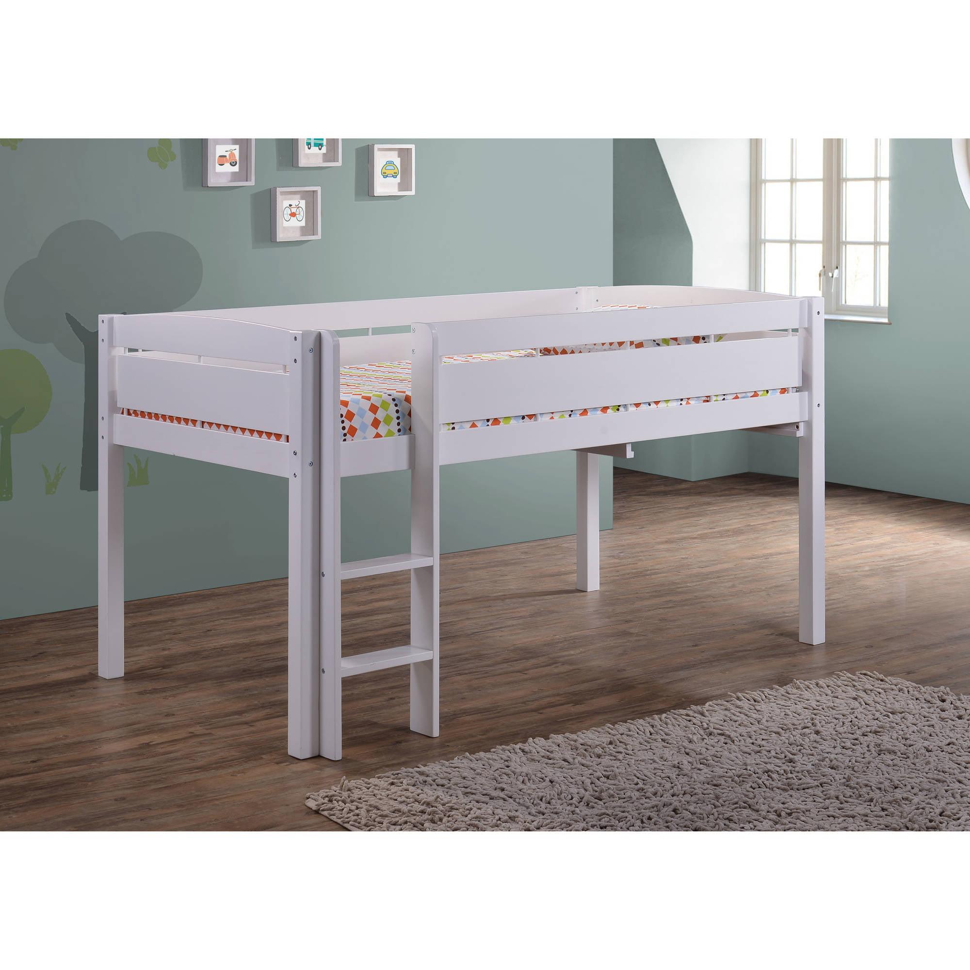 Canwood Whistler Junior Loft Bed, White