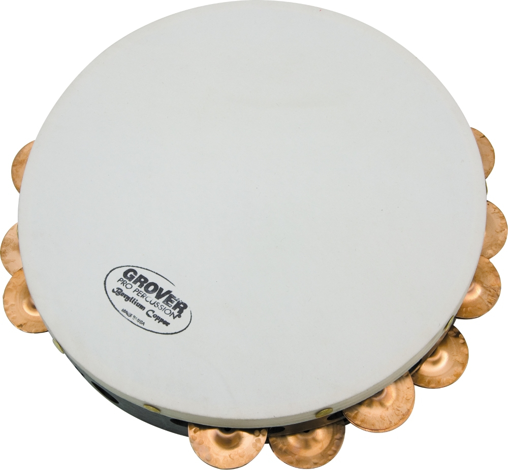 """Grover Pro Projection Plus 10"""" Tambourine Beryllium Copper by Grover Pro"""