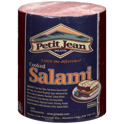 Petit Jean Meats Cooked Salami, Deli Sliced