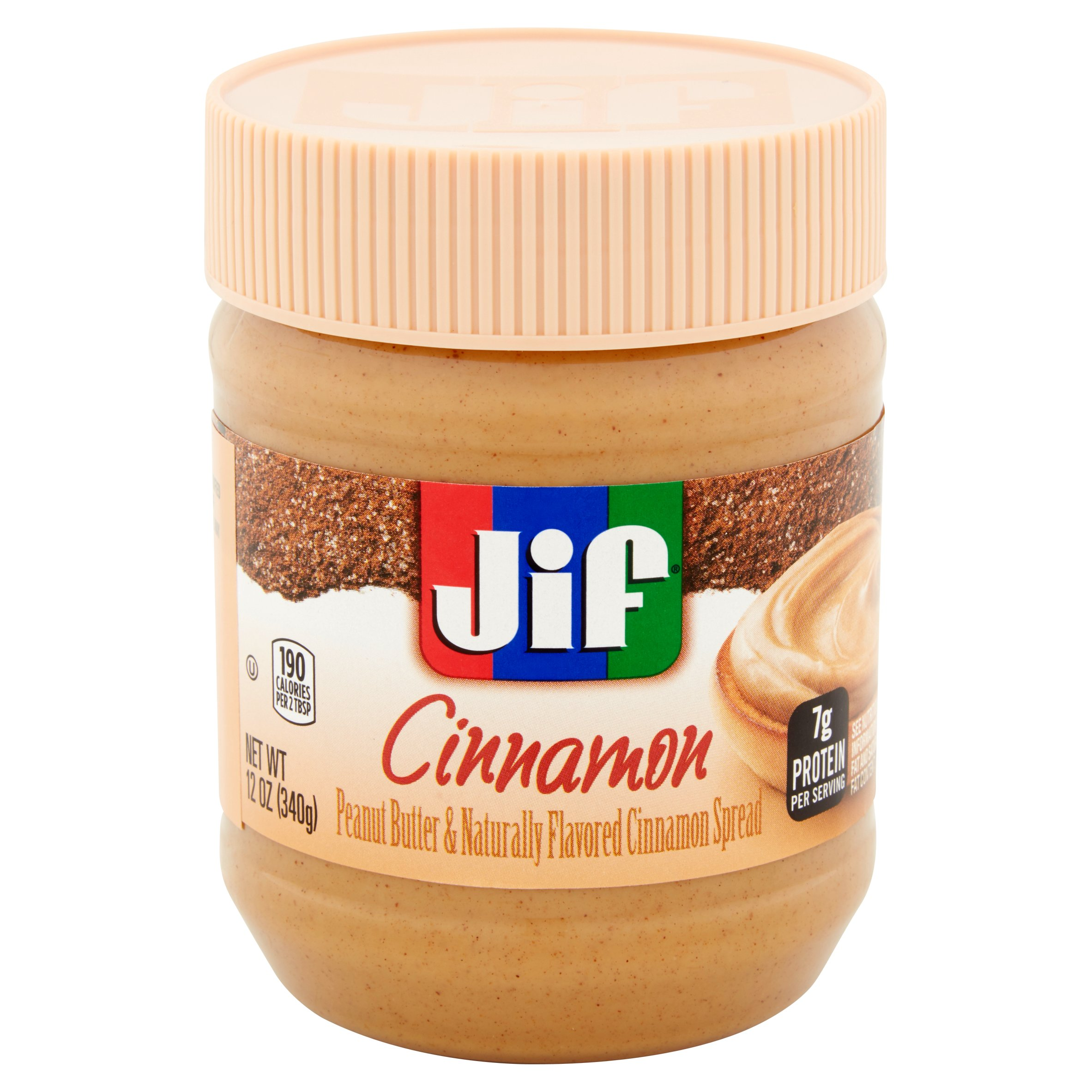 Jif Cinnamon Peanut Butter Spread, 12 oz