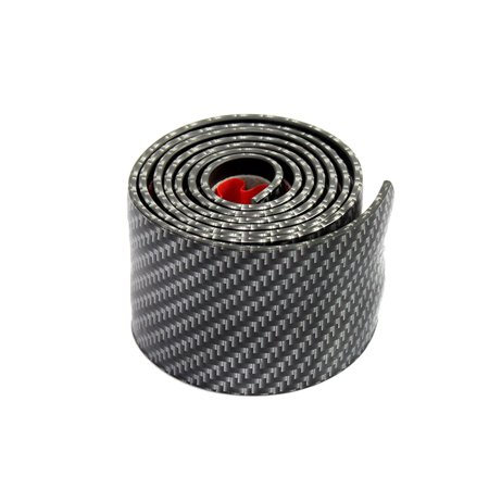 Custom Door Sill Plate (Car Door Sill Cover Strip 1M Carbon Fiber Style Threshold Step Guard Strip Stickers Plate Anti-Kick Scratch Panel Protector (5cm)