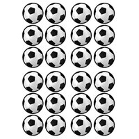 Football Soccer Theme Edible Cupcake Toppers Image 24ct*
