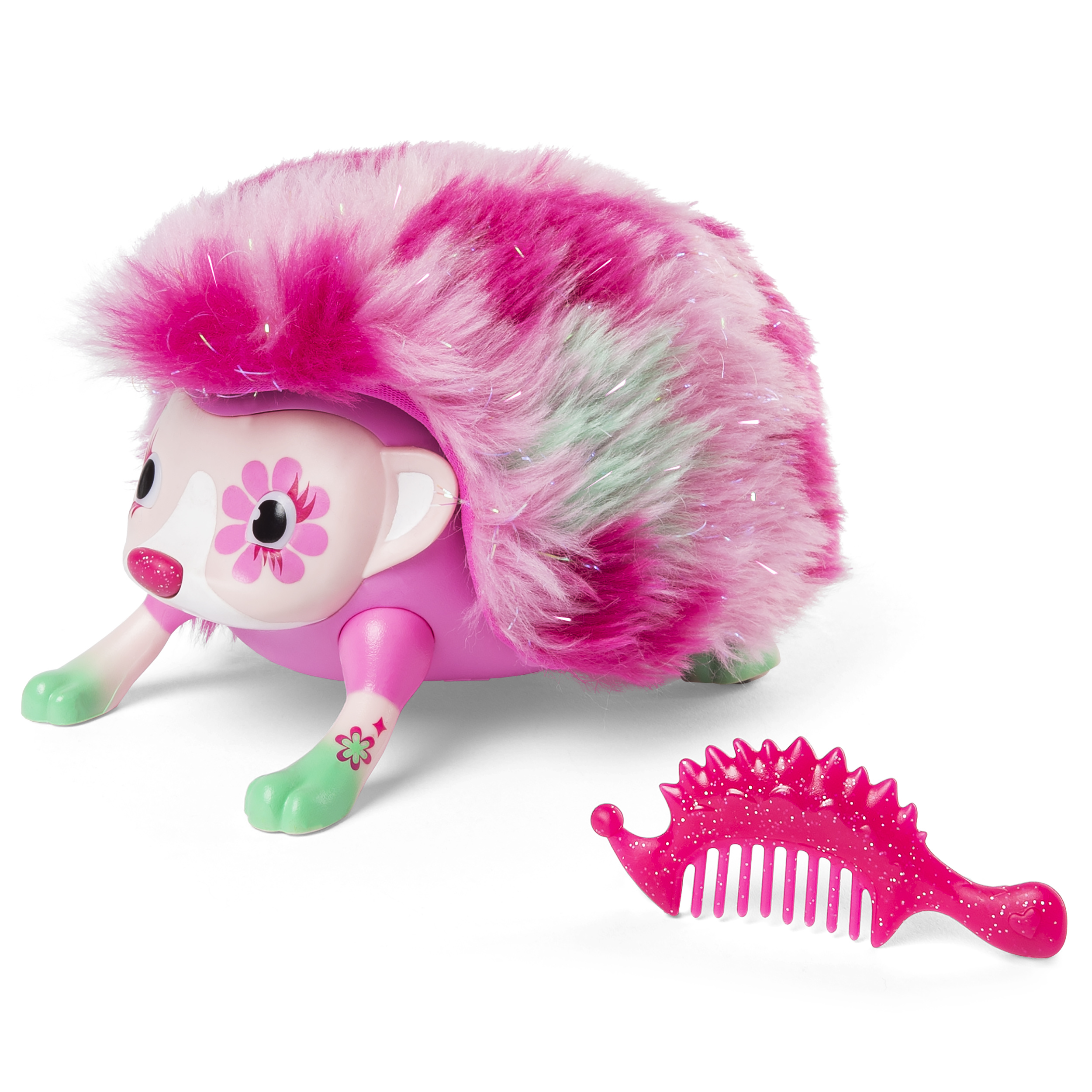 Zoomer Hedgiez, Rosie, Interactive Hedgehog with Lights, Sounds and Sensors, by Spin Master