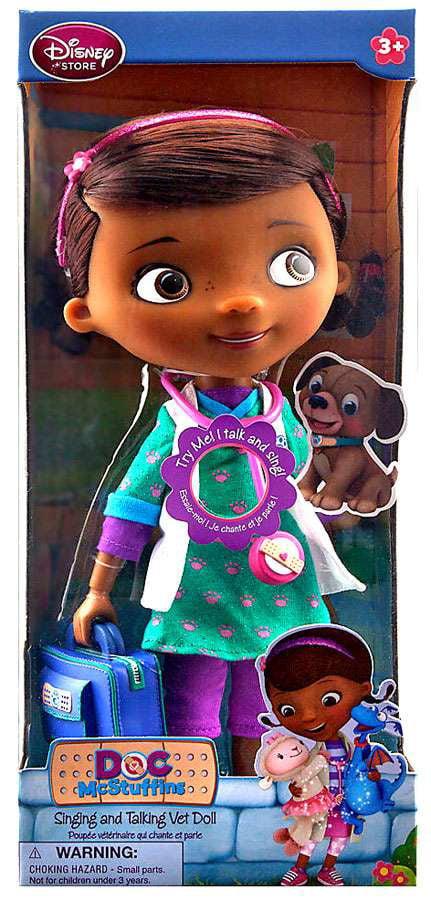 Disney Doc McStuffins Doll [Talking & Singing] by