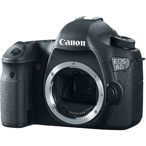 Canon EOS Black 6D Digital SLR Camera with 20.2 Megapixels (Body Only) by Canon
