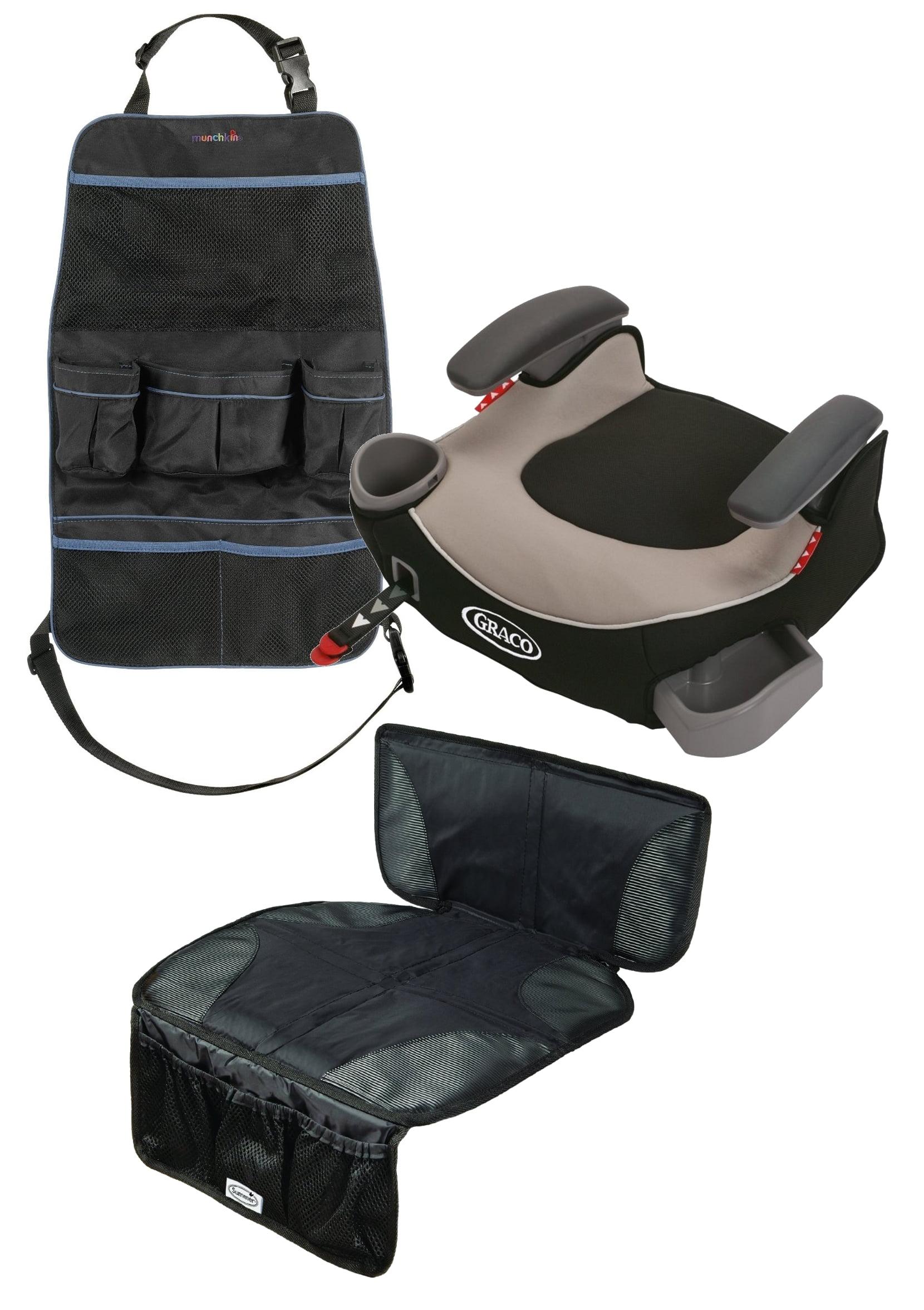 Silla De Carro Para Bebe Afijo de Graco Booster sin respaldo asiento con asiento trasero Mat organizador, Pierce + Graco en Veo y Compro