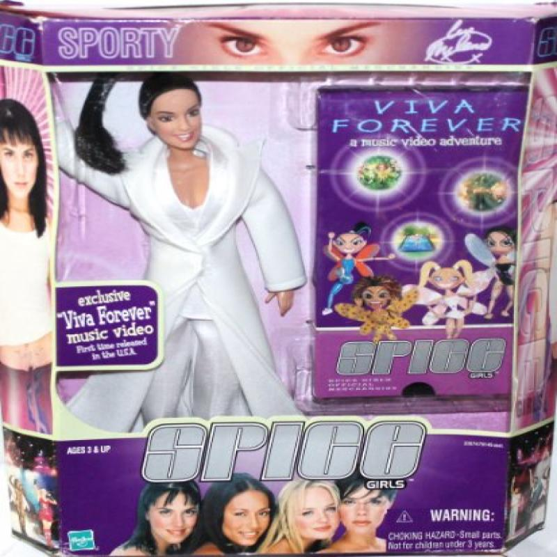 "Spice Girls ""Sporty Spice"" Viva Forever 11"" Doll with Exc..."