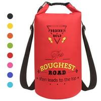QF Waterproof Dry Bag Sack for Canoe Kayak Boating Camping Swimming Hiking, Sack Bag PVC Drybag Sack Tote bag dry Swim Bag backpack for Ocean Pack Floating KayakingBlue/10L