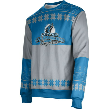 a238af6fc Men s California State University San Bernardino Ugly Holiday Jingle  Sweater - Walmart.com