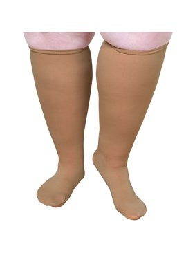 a403045052a Product Image Unisex Extra Wide Moderate Compression Knee High Socks -Up to  XW   4E   26