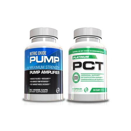 Performance Homme Kit d'oxyde nitrique et PCT Supplément Homme