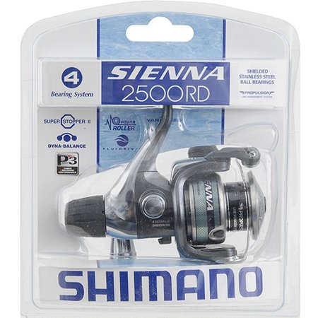 Shimano Sienna Rear Drag Spinning Reel