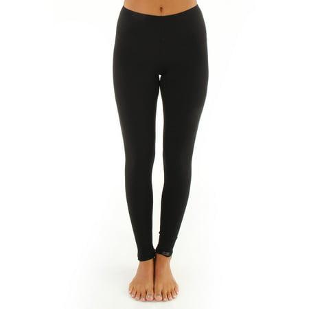 Women's Elita 2300 Warm Wear Microfiber Ankle Legging (White S) - image 2 of 4