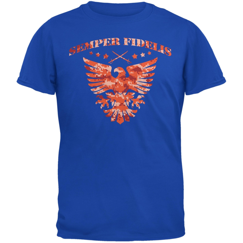 Semper Fidelis Eagle Royal Adult T-Shirt