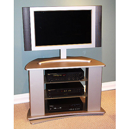"""Silver Swivel TV Stand, for TVs up to 44"""""""