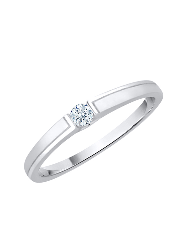G-H,I2-I3 1//20 cttw, Diamond Wedding Band in Sterling Silver Size-6