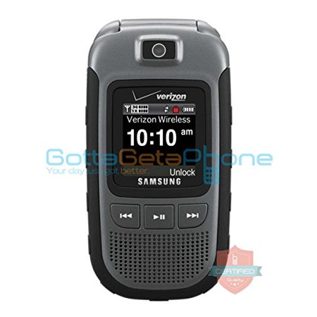Samsung SCH U640 Convoy - Black/Gray (Verizon) Cellular Phone manufacture refurbished (Flip Phones Samsung)