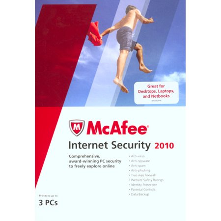 Mcafee Internet Security 2010  3 Users