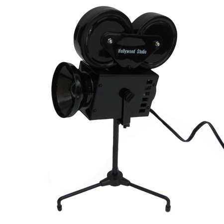 Movie Director Hollywood Film Set Camera Lamp Desk Light Home Theatre Decor