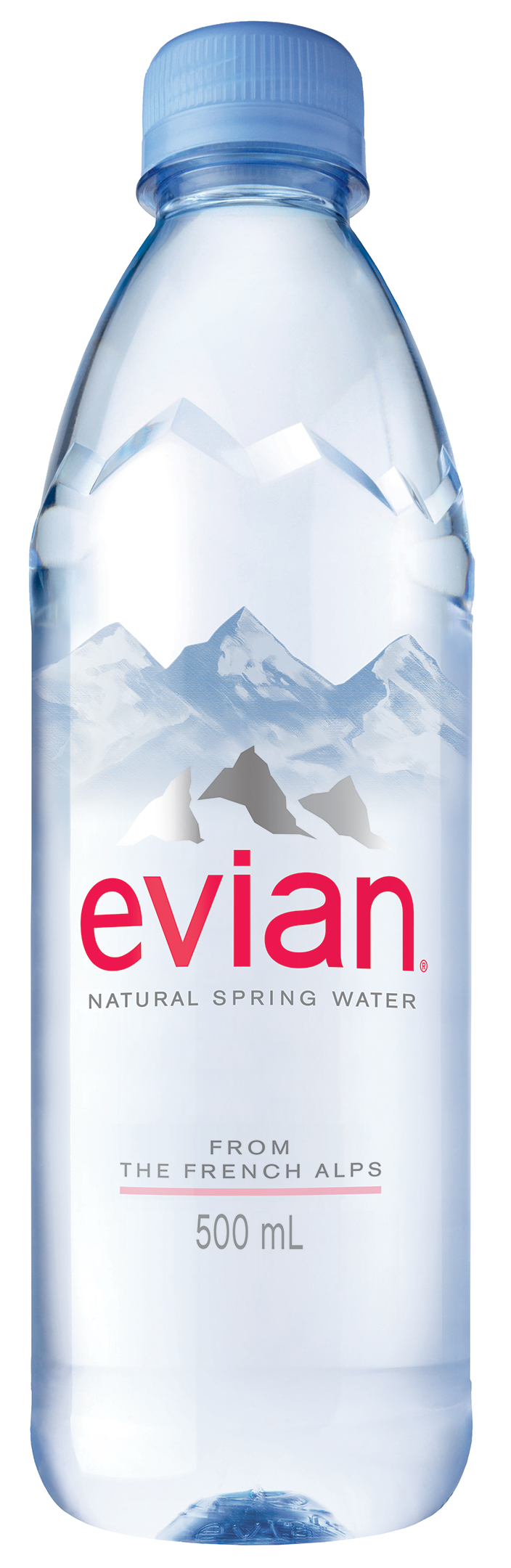 Evian Natural Spring Water, 16.9 Fl Oz, 6-Pack by Danone Waters of America