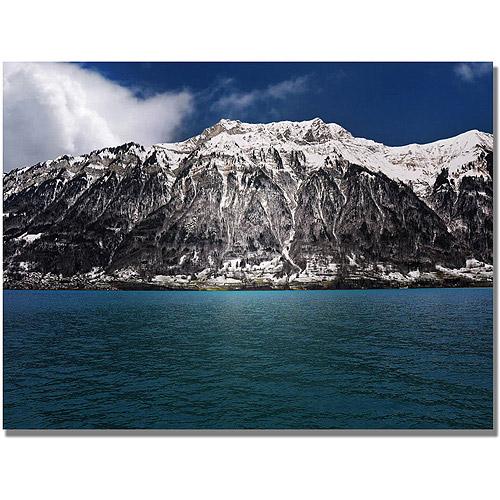 "Trademark Art ""Brienz Lake Switzerland"" Canvas Wall Art by Philippe Sainte-Laudy"