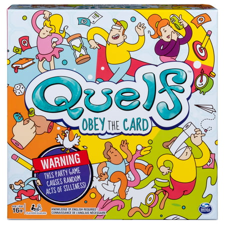 Quelf - Party Game for Teens and Adults (Printable Games For Halloween Party)