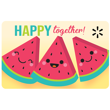 Together Melons Walmart eGift Card