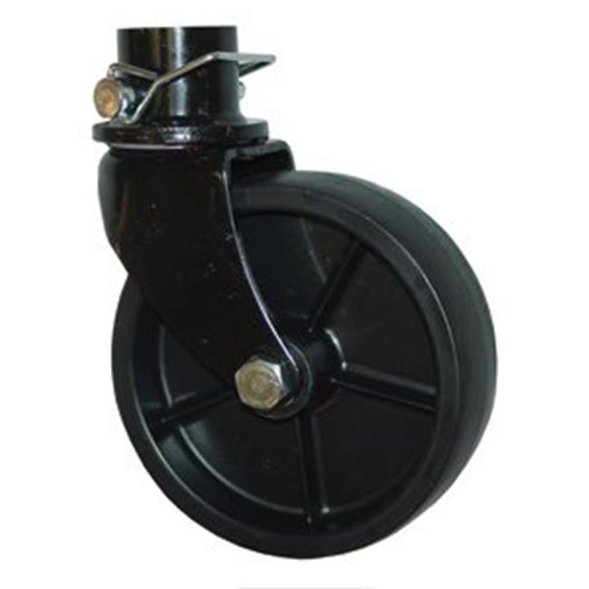 ADNIK 29041B Bal Tongue Jack Swivel Caster 2000 lbs.