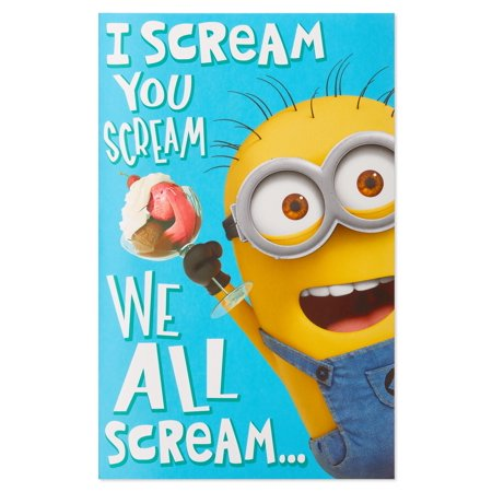 American Greetings Despicable Me Birthday Card With Music