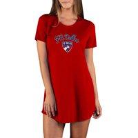 FC Dallas Concepts Sport Women's Marathon Knit Nightshirt - Red