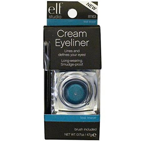 Luxe Creme Liner - e.l.f. Cream Eyeliner, Teal Tease