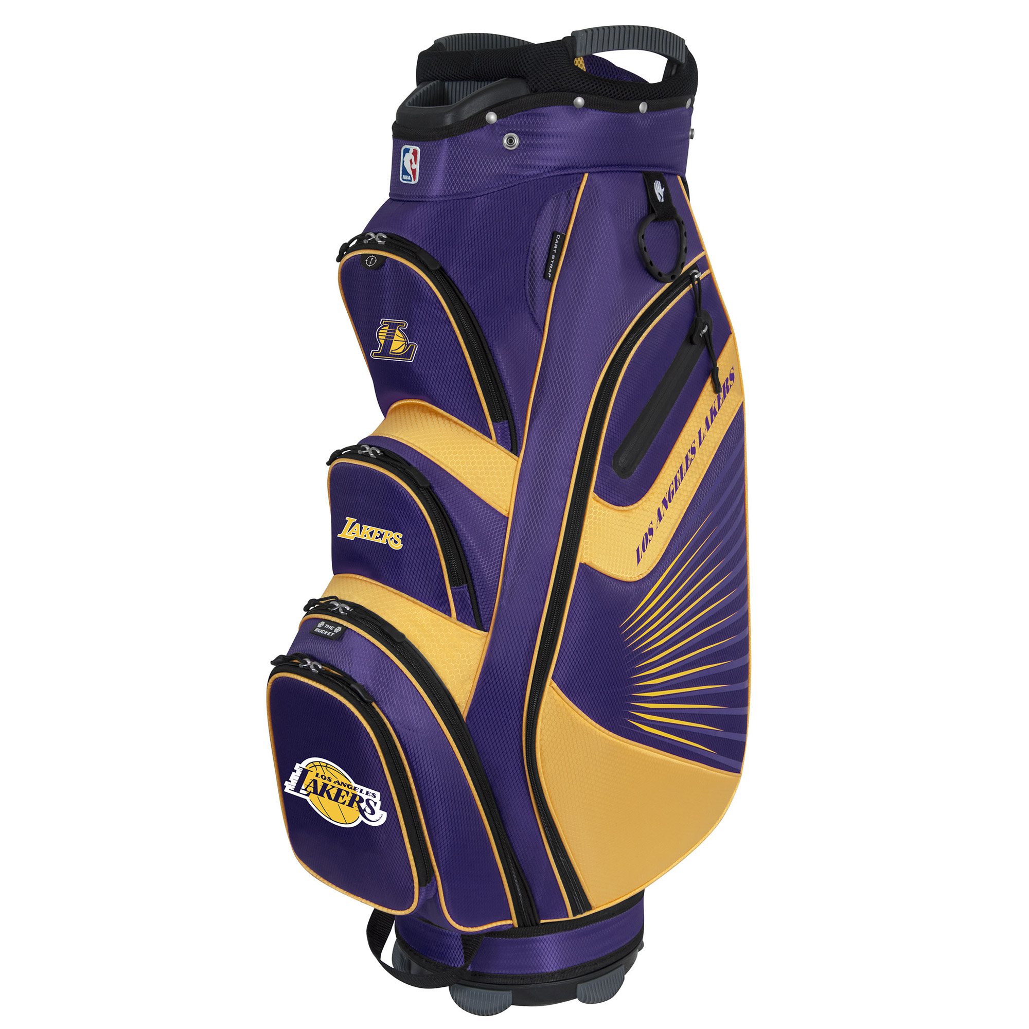 Los Angeles Lakers The Bucket II Cooler Cart Bag - No Size