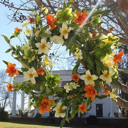 Flora Decor 22'' Summer Sunrise Wreath (Diy Summer Wreath)
