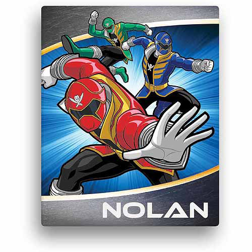 "Personalized Power Rangers Final Strike 16"" x 20"" Canvas Wall Art"