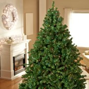 classic pine full pre lit christmas tree walmartcom
