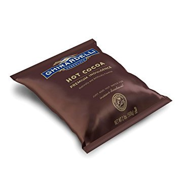 4 PACKS : Ghirardelli Chocolate Premium Hot Cocoa Mix, Double Chocolate, 32 Ounce Package (Ghirardelli Vanilla Hot Chocolate)