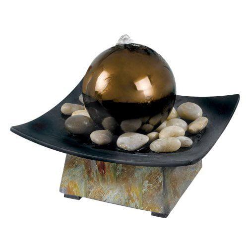 Kenroy Sphere Indoor Table Outdoor Fountain
