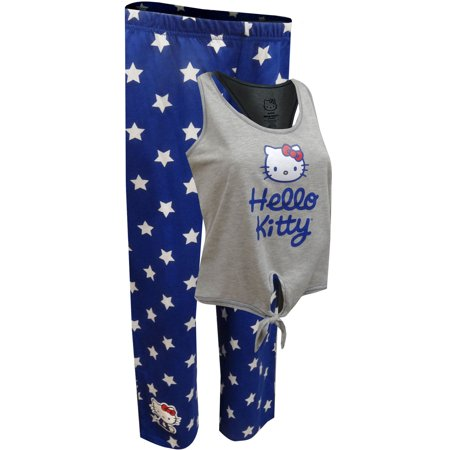Hello Kitty All American Capri Length Pajama Set ()