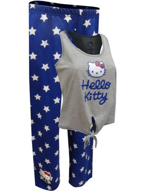 eb85e970f Product Image Hello Kitty All American Capri Length Pajama Set