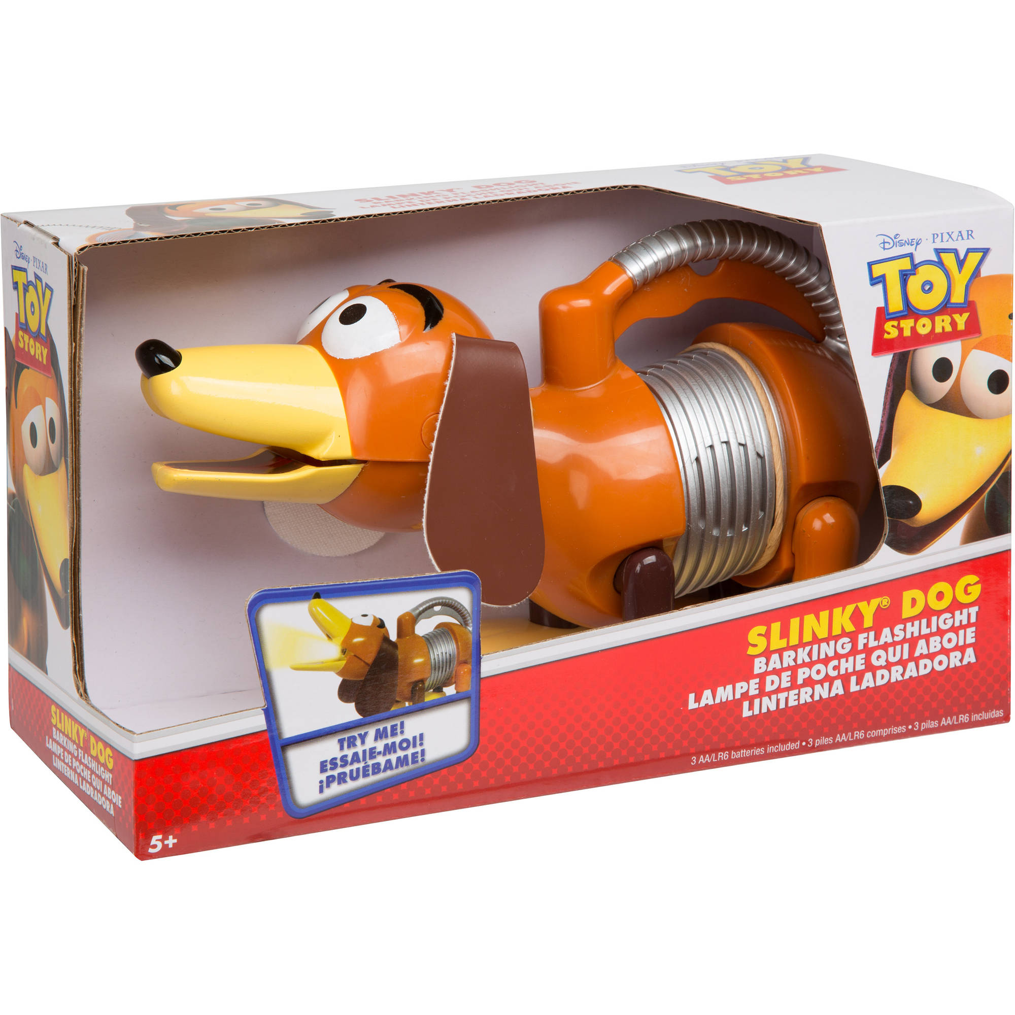 Disney Toy Story Slinky Dog Barking Flashlight