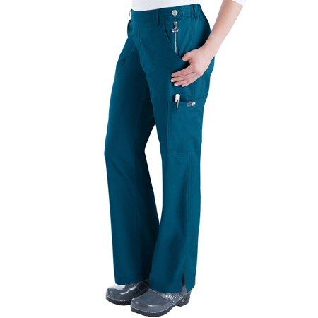 0b43672a4e0 koi - koi Classics Women's Sara Flat Front Flared Scrub Pants - Walmart.com